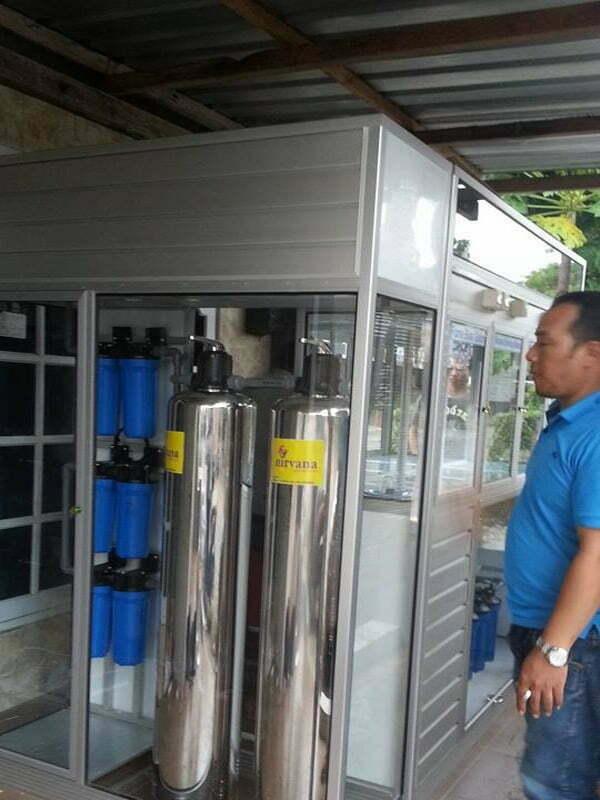 Pemasangan Depot Air Minum di Ketandan, Klaten