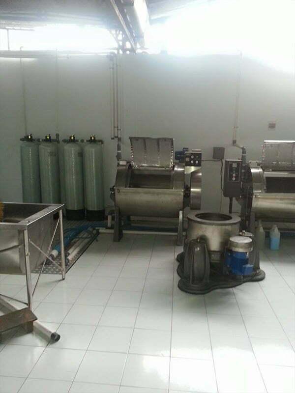 Pemasangan filter air nirvana air sumber dan air limbah laundry di Jl Wonosari, Yogyakarta